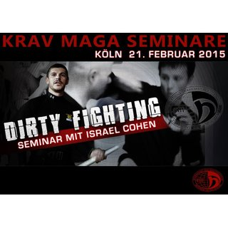 IKMF Krav Maga dirty fighting Seminar