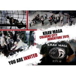 Daypass Krav Maga Cologne City Adventure 22. or /oder 23. August 2015
