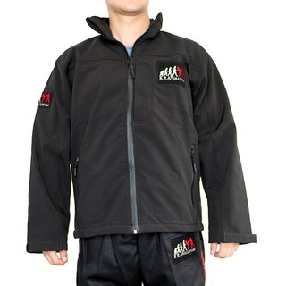 KRAVolution Krav Maga Softshell trainings jacket with velcro