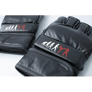 Krav Maga / MMA Freefight Gloves KRAVolution Leather black S