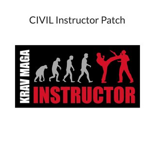 KRAVolution Krav Maga Instructor Patch