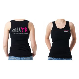 Krav Maga KRAVolution of Woman Tanktop XL