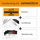 KRAVolution Basic Level Patch Advanced 3 Zertifikat...