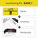 KRAVolution Basic Level Patch Basic 1 Certificate Membercard