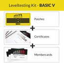 KRAVolution Basic Level Patch Basic 5 Certificate Membercard