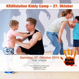 KRAVolution Kiddy Camp on October 27, 2018 in Cologne Deutz