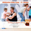 KRAVolution Kiddy Camp am 27. Oktober 2018 in Köln Deutz