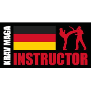 KRAVolution Krav Maga Instructor  Germany Patch