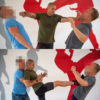 Multiple Attacker Seminar mit Krav Maga Experte Jean-Paul am 20.07.2019