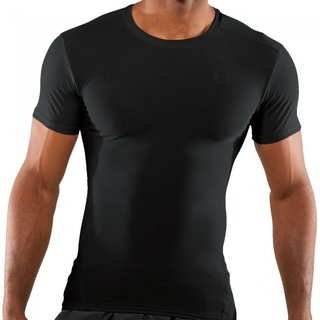 Under Armour HeatGear Tactical T-Shirt Black
