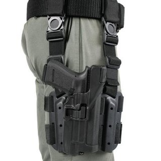 Taktischer Holster Blackhawk Tiefzieholster Level3 Glock 17/22